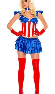 Sexy Halloween Costumes for Women, 2019 Adult Halloween Costume Ideas Captain America Comic Books, Captain America Cosplay, Halloween Costumes 2014, Halloween Party, Super Hero Costumes, Superhero Party, Costumes For Women, Cosplay Costumes, Plus Size
