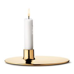 Ilse Candle Holder - Brass