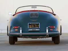 1958 Porsche 356A 1600 Speedster T-2 retro        f wallpaper background