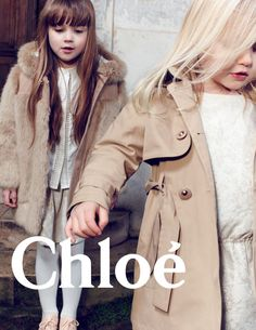 Chloe Kids Campaign FW 2014 by Delphine Chanet