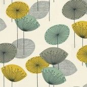 Ivory Bird: Vintage Inspired retro fabric - Sanderson Dandelion - easy retro design to duplicate for cards Motif Vintage, Vintage Design, Retro Vintage, John Lewis, 1950s Design, Retro Design, Retro Fabric, Vintage Fabrics, Retro Pattern