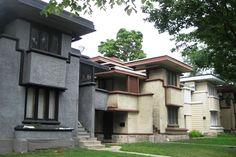 Frank Lloyd Wright houses right here in Milwaukee!