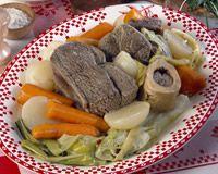 Pot-au-feu : plat d'hiver bien français!
