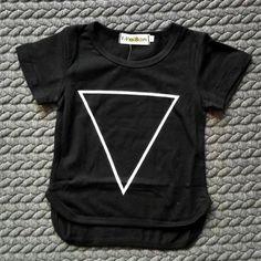 Camiseta manga corta triangle