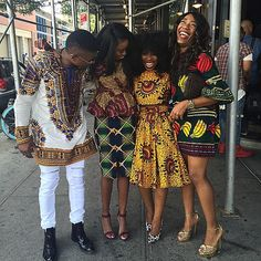 "Zuvaa Marketplace on Instagram: ""#squad #africanfashion"""