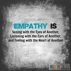 empathy is quote