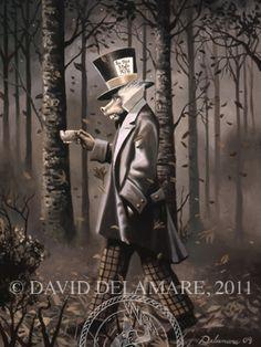 Mad Hatter, by david delamare