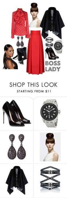 Boss Lady by tweenpop on Polyvore featuring Burberry and Eva Fehren
