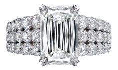Christopher Designs diamond wedding ring