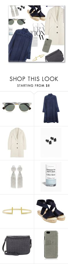 """blogger style: fash-n-chips"" by summer-firefly ❤ liked on Polyvore featuring Ray-Ban, CECILIE Copenhagen, Étoile Isabel Marant, Oscar de la Renta, Maria Black, Prism, Bottega Veneta and The Case Factory"