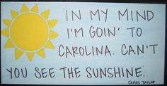 in my mind im going to carolina :)