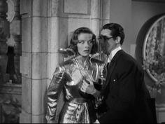 Bringing Up Baby, Cary Grant & Katharine Hepburn