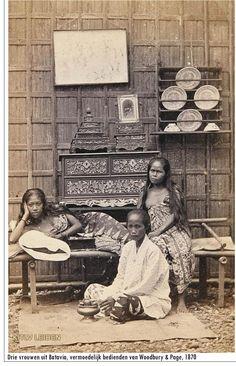 Indonesia ~ Java, Batavia ~ 1870