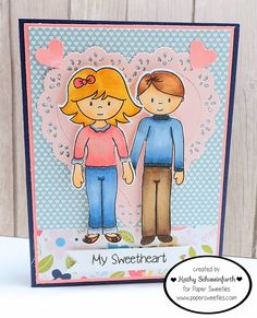 Stamps At Play: Valentine's Day