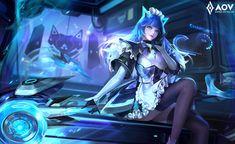 Fate Stay Night Anime, Flower Phone Wallpaper, Monkey King, Mobile Legends, Jinyoung, Cyberpunk, Game Art, Maid, Bag Storage