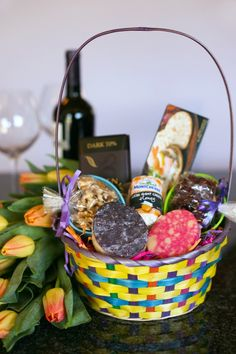 Kids aren't the only ones who love #Easter baskets! Hop over to @Kroger Co for inspiration on ways to shower your loved ones with treats this holiday. #EasterBasketHop
