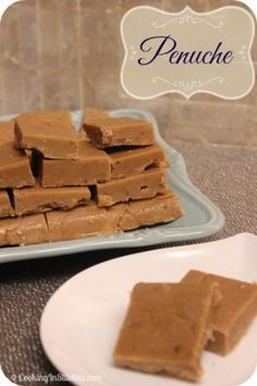 Penuche | Cooking In Stilettos  http://cookinginstilettos.com/penuche/  #Fudge #ChristmasWeek #Candy #Holiday
