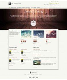 8 best Website Design Ideas: Churches images on Pinterest | Design ...