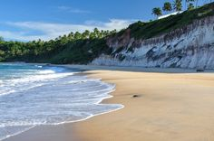 Just a few miles from Natal, in the northeast of Brazil, Pipa is one of the most famous and cosmopolitan Brazilian beaches #brazil #travel