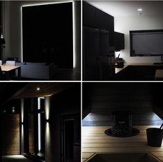 Omakotitalon valaistus LEDeillä, uudiskohde Pirkkala, 2016