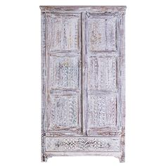 849.00 Little Tree Furniture - Whiteleaf Upcycled 1 Drawer 2 Door Wardrobe | Occasional Tables | Dining Room