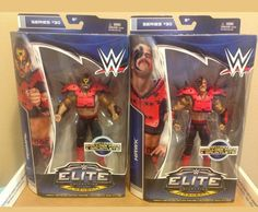 Wwe elite aminal and hawk Always open for offers just asking b. for no low blows be reasonable with me thanks(: The Road Warriors, Wwe Toys, Wwe Action Figures, Wwe Elite, Thankful, Wrestling, Baseball Cards, Lucha Libre