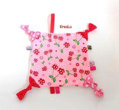 Schmusetücher - Schmusetuch / Schnullertuch - ein Designerstück von KreaLu bei DaWanda