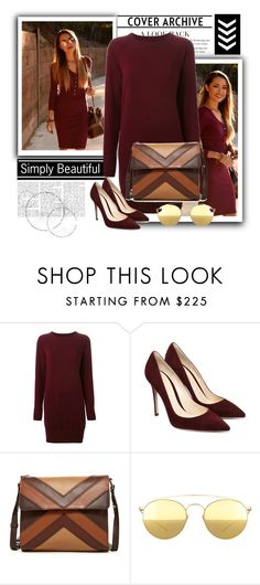 """Take a look 3"" by lovepeacehopefaith ❤ liked on Polyvore featuring Maison Margiela, Isabella Fiore and Mykita"