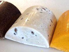 how to make salt bar soap - African Black Soap Salt Bar Recipe Coconut oil – 567 g Water – 160 g Lye – 83 g  Crumbled African Black Soap – 189 g (Soaperschoice.com) Fine Sea Salt – 283 g  Essential oil blend Rosemary – 15 g Tea Tree – 10 g Balsam Peru – 10 g Bay – 5 g Clary Sage – 5 g Lavender 40/42 – 20 g