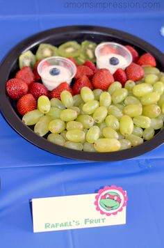 Teenage Mutant Ninja Turtles Birthday Party food ideas. You won't believe all the creative ideas we came up with for TMNT food!