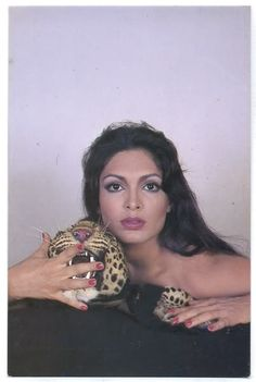 Parveen Babi--She was stunning. Unfortunately she lived and died alone, to be discovered only days after her death.... ... RIP Parveen!!