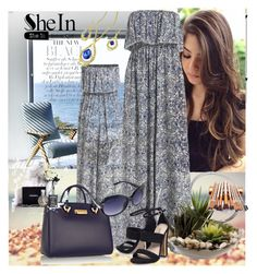 """Shein contest"" by lila2510 ❤ liked on Polyvore featuring Camp, Seed Design, ZAC Zac Posen, Home Essentials and Carvela"