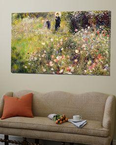 Summer Landscape Loft Art by Pierre-Auguste Renoir at Art.com