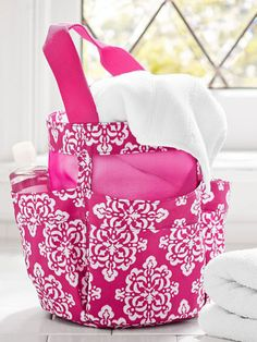 usumovein make it so easy and chic to cart your shower gear to and
