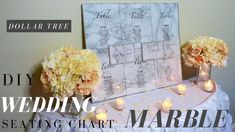 In this video I'm going to show you how to make a DIY Wedding Seating Chart with Marble contact paper and items from Dollar Tree. This DIY . Wedding Paper, Diy Wedding, Wedding Ideas, Seating Chart Wedding, Seating Charts, Kids Party Decorations, Wedding Decorations, Centerpiece Rentals, Diy Baby Shower Centerpieces