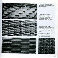 Cestería en papel de periódico (cestería china) (pág. 27) | Aprender manualidades es facilisimo.com