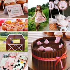 Grab your cowboy boots for a gallopin' good time at Eden's GIRLY Pink Gingham Farm Party!