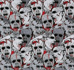 Hey, I found this really awesome Etsy listing at https://www.etsy.com/listing/210070116/zombies-infinity-circle-scarf