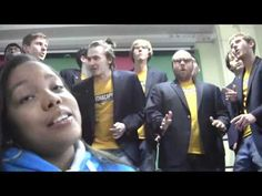 """great acapella """"edge of glory""""- if you need an instant mood boost, watch it"""