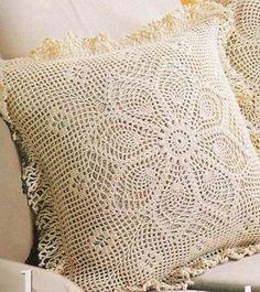 Pasatiempos entre hilos y puntadas: Fundas de almohadas con patrones