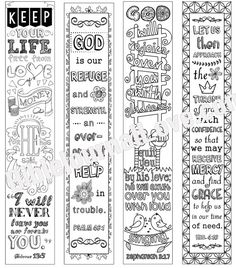 Printable Coloring Bible Journaling Margin by DigiScrapDelights #coloring #adultcoloring #printable #biblejournaling