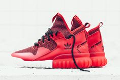 "adidas Originals Tubular X ""Red, White & Black"" - EU Kicks: Sneaker Magazine"