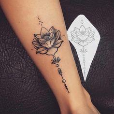 tattoo lotus flower, tattoo on ankle woman, lotus flower open on white - Tattoos - Tatuajes Unalome Tattoo, Lotusblume Tattoo, Piercing Tattoo, Ankle Tattoo, Tattoo Quotes, Mini Tattoos, Small Tattoos, Cool Tattoos, Tatoos