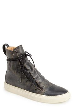 John Varvatos Collection 'Slim Mac' Sneaker Boot (Men) available at #Nordstrom