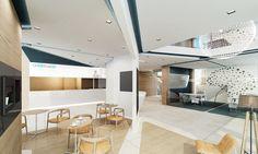 Café for Creditwest Bank by Net Mimarlık