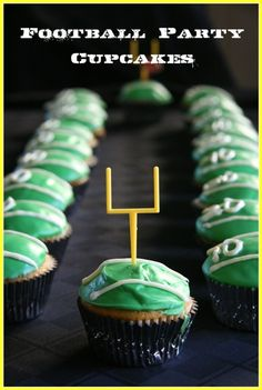 Cupcakes Football américain