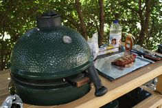 John will be cooking on the Big Green Egg this weekend!!