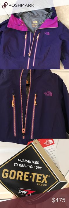 The North Face- Steep Series- Plum- M- NWT Brand new Steep Series snowboarding jacket! Helmet compatible hood, waterproof media pocket, pit-zip vents, pass pocket with goggles wipe, and stretch powder skirt. $649.00- make a reasonable offer! The North Face Jackets & Coats