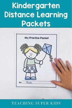 Distance Learning Packet Kindergarten PART 2 (due to Coronavirus) Time Activities, Hands On Activities, Learning Activities, Teaching Grammar, Help Teaching, Teaching Ideas, Kindergarten Independent Work, Reading Centers, Literacy Centers