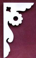 Artículo # B-13 Victorian Porche Soporte El Woodshop Victorian http://victorianwoodshop.com